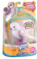 Little Live Pets Snow Belle Tweet Talking Bird Pet Doll