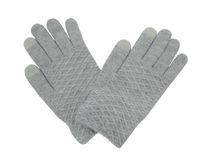 George Women's Touch Capability Magic Gloves Light Grey