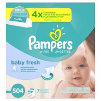 Pampers Baby Wipes Baby Fresh 7X Pack