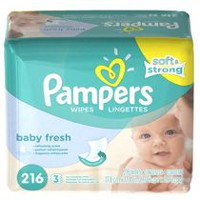 Pampers Baby Wipes Baby Fresh 3X Pack