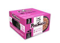 PureSnacks Mixer 3-Pack Tuna & Salmon