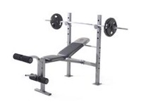 Banc d'exercice XR 6.1 de Gold's Gym