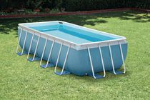 Intex 16ft x 8ft x 42in Prism Frame™ Rectangular Above Ground Pool Set