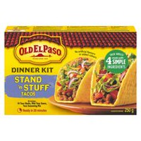Old El Paso Stand N' Stuff Taco Dinner Kit
