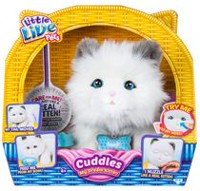 little Live Pets My Dream Kitten Cuddles Pet Doll