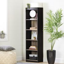 South Shore, Smart Basics collection, 5-Shelf Narrow Bookcase