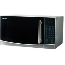 RCA 1.1 Cu Ft Countertop Microwave Stainless Steel