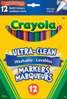 12 Washable Fine Line Markers, Bold