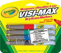 4-Pack Dry Erase Markers