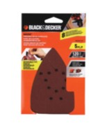 BLACK & DECKER Mouse Sandpaper 120 grain (BDAM120)