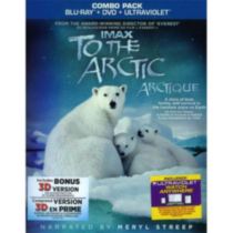 IMAX: To The Arctic (Blu-ray 3D + Blu-ray + DVD + UltraViolet) (Bilingual)