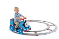 Fisher-Price Power Wheels – Thomas et ses amis : Thomas le petit train avec circuit