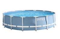 "Intex 14' x 42"" Prism Frame Pool Set"