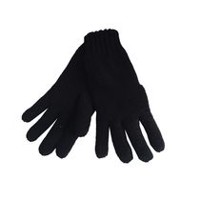 George Ladies' Chenille Glove Black