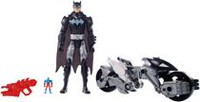 "DC Justice League Action 12"" Batman and Batcycle"