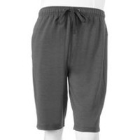 Athletic Works Men's Knit Shorts Grey M