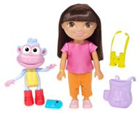Fisher-Price Nickelodeon – Dora l'exploratrice – Coffret Prêts à explorer