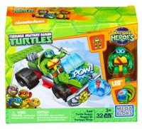 Mega Construx Teenage Mutant Ninja Turtles Half-Shell Heroes Leo Turtle Buggy