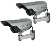 Solar Decoy Security Camera Twin Pack