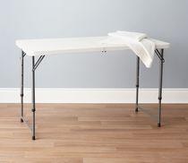 Table pliante de 4 pi de GSC - Blanche