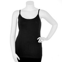 George Plus Women's Jersey Cami Black 4X