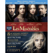 Les Miserables (Blu-ray + DVD + Digital Copy + UltraViolet)