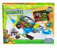Mega Bloks Teenage Mutant Ninja Turtles Half-Shell Heroes Turtle Chopper Playset
