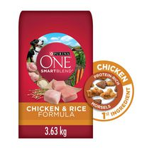 Purina ONE SmartBlend Chicken & Rice Formula Dog Food