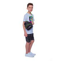 Boys Mini Pop Kids Blue Waves Crossbody Bag