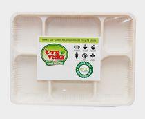 Verka Greenline 6 compartment Tray