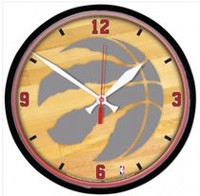 NBA Toronto Raptors Round Wall Clock
