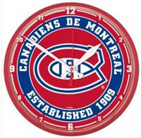 NHL Montreal Canadiens Round Wall Clock