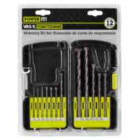 POWER IT! 12 Piece Masonry Bit Set