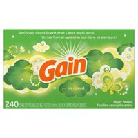 Gain Dryer Sheets, Original