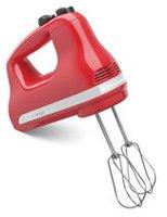Betty Crocker Metallic Red 7 Speed Power Up Hand Mixer