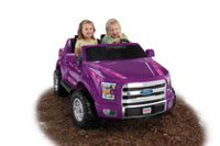Fisher-Price Power Wheels Ford F-150—Purple Camo