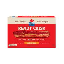 Maple Leaf Ready Crisp Fully Cooked Natural Bacon Slices