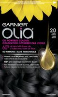 Garnier Olia No Ammonia Oil Powered Permanent Haircolour Soft Black