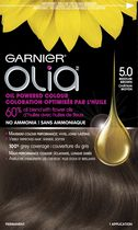 Garnier Olia No Ammonia Oil Powered Permanent Haircolour Medium Brown