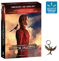 (Walmart Exclusive) With Key Chain - Hunger Games Mockingjay - Part 2 - (Blu-Ray + DVD +Digital Copy) The Combo