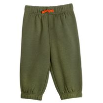 George Baby Boys' Fleece Jogger Green 3-6 months