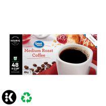 Great Value(MC) Torréfaction moyenne capsules K-Cup® recyclables de Keurig®