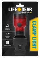 Life+Gear Clamp/Swivel Red Light