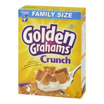 Golden Grahams Family Size Crunch Cracker Flavoured Cereal