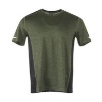 Athletic Works Men's Colour Block Performance Tee Rifle Green M