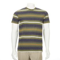 George Men's Short Sleeved Crewneck Jersey Tee Olive S/P