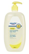 Equate Head and Body Baby Wash 828mL