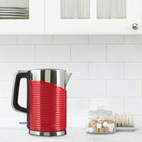 BELLA Linea 1.7 L Electric Kettle Red