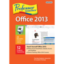 Individual Software Professor Teaches Office 2013