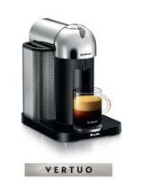 Nespresso® Vertuo Coffee and Espresso Machine by Breville, Chrome